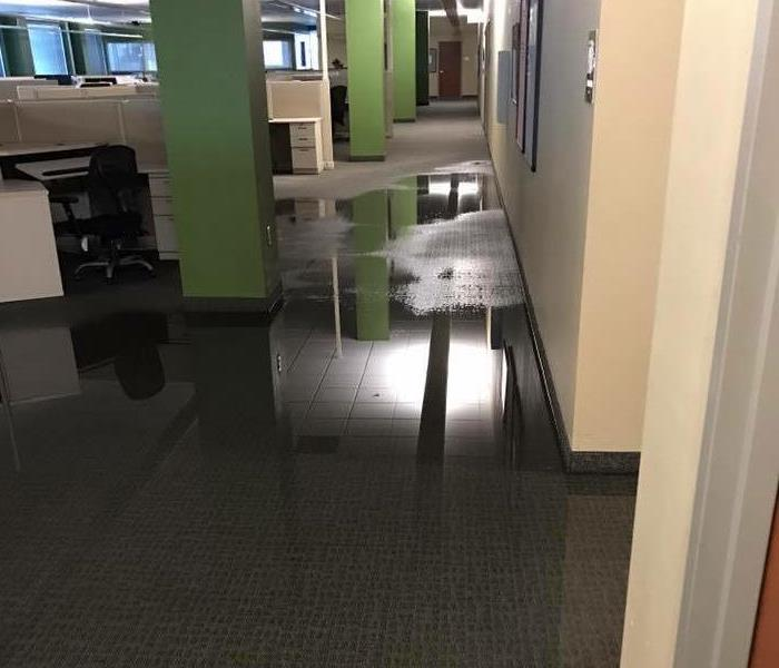 Office Storm Damage