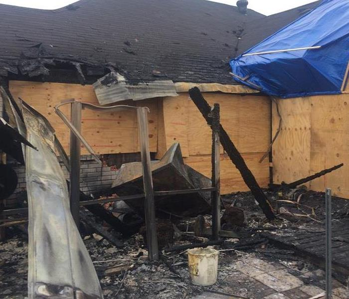 Home suffered from Fire Damage