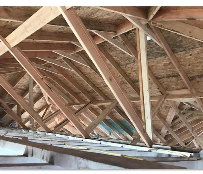 New framing of Roof