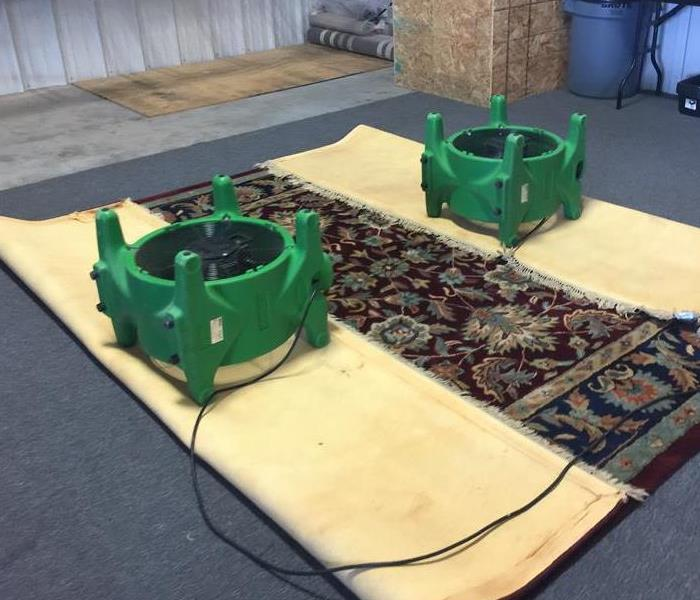 Rug Cleaning by SERVPRO
