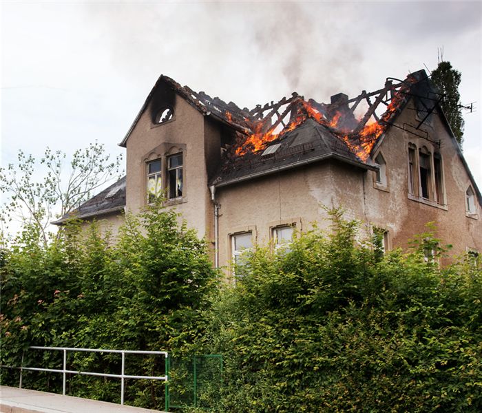 Fire Damage How To Stay Safer in a Lightning Storm